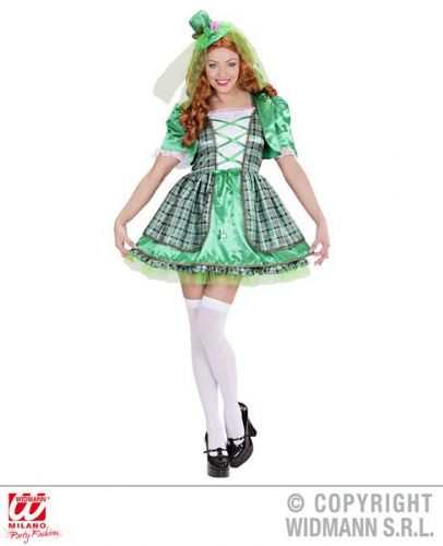 Irish Girl - Sexy Fancy Dress (Widmann 01691)